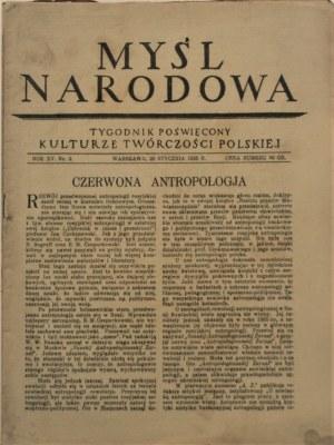 Myśl Narodowa, 1935