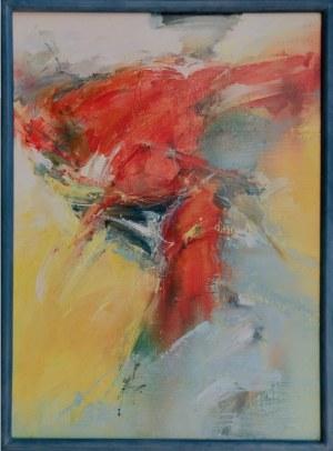Klaudiusz Abramski, Abstrakcja w czerwieni