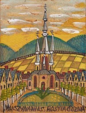 Nikifor Krynicki (1895-1968), Kościół w Muszynie