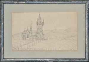 Nikifor Krynicki (1895-1968), Kościół w górach