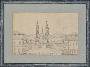 Nikifor Krynicki (1895-1968), Z cyklu: miasto i wieś