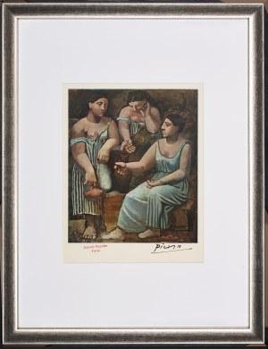 Pablo Picasso (1881-1973), Trzy gracje przy studni, 1946