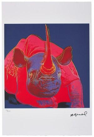 Andy Warhol (1928-1987), Z serii: Wymierające gatunki, Nosorożec
