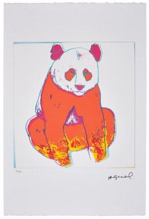 Andy Warhol (1928-1987), Z serii: Wymierające gatunki, Panda