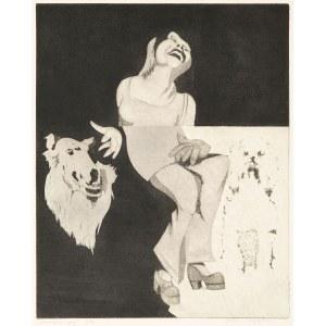 Janusz Przybylski (1937-1998), Dziewczyna i psy