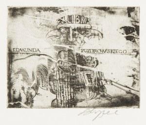 Ryszard Stryjec (1932 Lipniszki k. Lidy-1997 Gdańsk), Exlibris Edmunda Puzdrowskiego