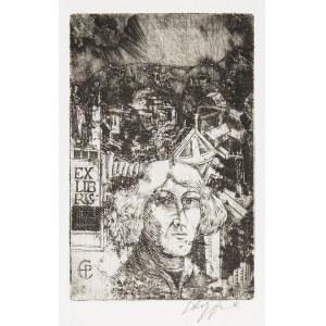 Ryszard Stryjec (1932 Lipniszki k. Lidy-1997 Gdańsk), Exlibris CP