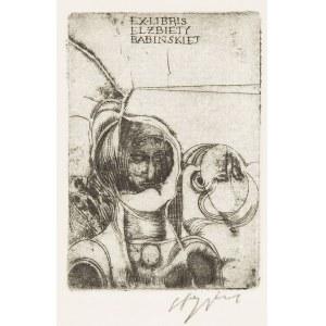 Ryszard Stryjec (1932 Lipniszki k. Lidy-1997 Gdańsk), Exlibris Elżbiety Babińskiej