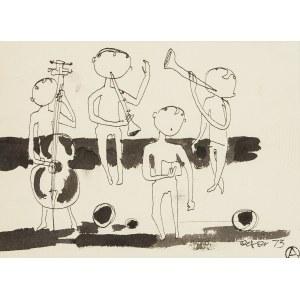 Otto Axer (1906 Przemyśl-1983 Warszawa), Kwartet muzyczny, 1973 r.