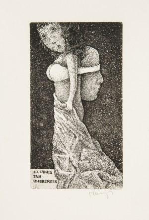 Stasys Eidrigevicius (ur. 1949 Mediniškiai/Litwa), Ex Libris Jan Rhebergen