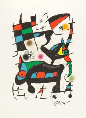 Joan Miro (1893 Barcelona - 1983 Palma de Mallorca), Oda do Joana Miró