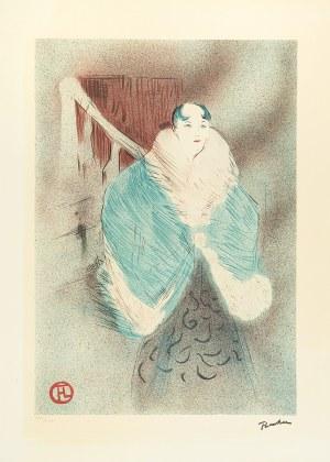 Henri Lautrec-Toulouse de (1864-1901), Elsa Wiedenka, 1897 r.