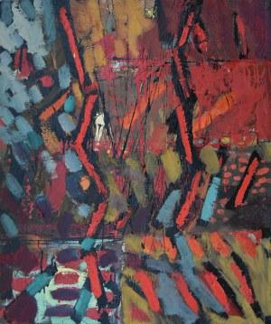 Marek Batorski, Music in red, 2020