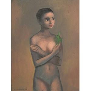Katarzyna Karpowicz, Girl with the plant, 2020