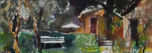 Krzysztof Ludwin, Toskania-ciche malowanie, 2018