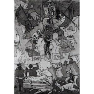 Romuald Oramus, Z cyklu: Rytuały X 84/2018, 1982-84/2018