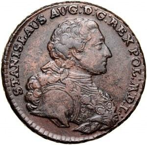 Stanisław August Poniatowski 1764-1795, Trojak 1766, Warszawa.