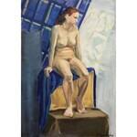 Jagoda Szymańska (ur. 1983), Akt kobiecy w błękitnej tonacji XX