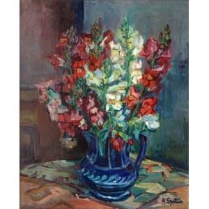 Henryk Epstein (1891 - 1944), Kwiaty w wazonie