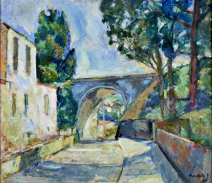 Teresa Wallis - Joniak (Ur. 1926), Collioure, 1998