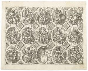 Ammann Jost, Alegorie nauk wyzwolonych, 1579