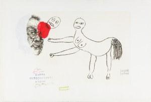 Get-Stankiewicz Eugeniusz, Autoportret z córką, 2001