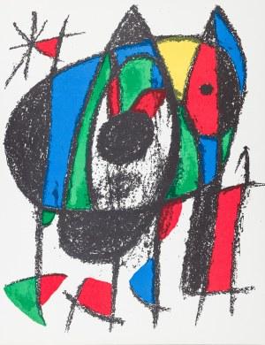 Miró Joan, Kompozycja V, 1972