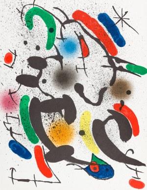 Miró Joan, Kompozycja VI, 1972