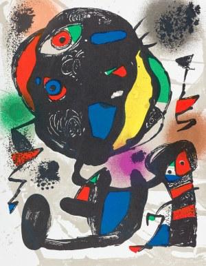 Miró Joan, Kompozycja V wariant, 1972