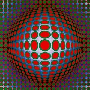 Victor Vasarely, VEGA - TEK, 1968 - 1971