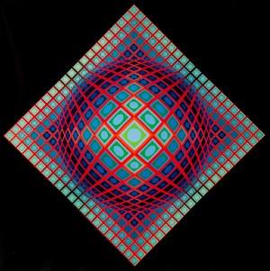 Victor Vasarely, VEGA - 201, 1968 - 1971