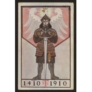 500.rocznica bitwy pod Grunwaldem (rycerz i biały orzeł)