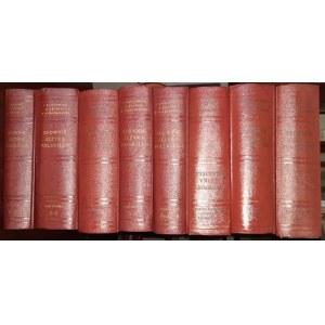 Słownik Języka Polskiego Tomy 1-8. Reprint 1952-1953