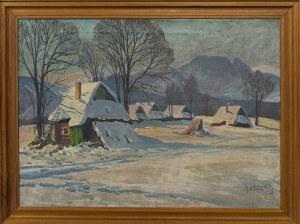 Michał Stańko (1901-1969), Pejzaż zimowy
