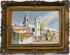 Anna Maślakiewicz-Brzozowska (1912-1986), Wawel, 1955 r.