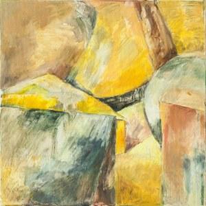 Ewa Ludwikowska (ur. 1956), Kompozycja żółta, 2018