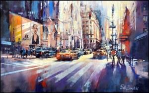 Piotr Zawadzki (ur. 1971), Metropolis: Sunny Fifth Avenue, New York, 2020
