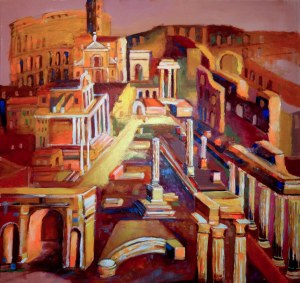 Magdalena Kurek (ur. 1979), Forum Romanum forever, 2020 (POZYCJA WYCOFANA)