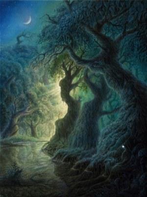 Konstantyn Płotnikow (ur. 1991), The forest of dreams, 2020