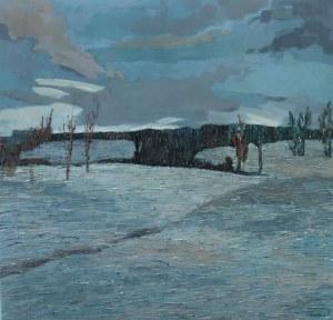 Olena Horhol (ur.1994), Śnieg dookoła, 2017