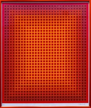 Julian Stańczak, Sequential Chroma (11/175), 1980