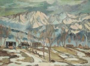 Mieczysław Filipkiewicz (1891 Kraków -1951), Widok na Tatry