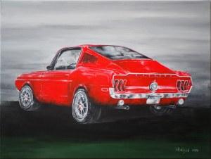 Weronika Wójcik (ur. 1994), Mustang Fastback, 2020