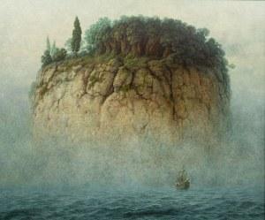 Jacek Szynkarczuk (ur. 1979), Podróż na wyspę mgieł, 2020