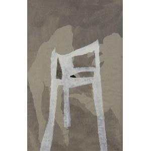 Teresa Pągowska, Kompozycja z krzesłem, 1987