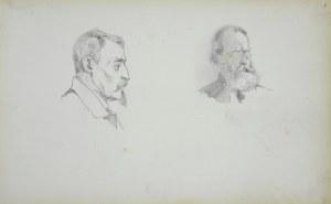 Stanisław Chlebowski (1835 - 1884), Studia portretowe dwóch mężczyzn