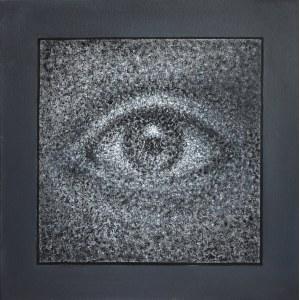 Konstantin Płotnikow, White Noise Square Eye, 2020