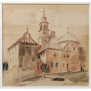 Irena NOWAKOWSKA-ACEDAŃSKA (1906-1983), Klasztor OO. Bernardynów w Lublinie