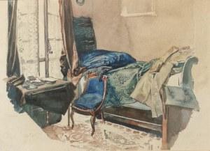 Józef MEHOFFER (1869-1946), Pokój w Paryżu, 1891