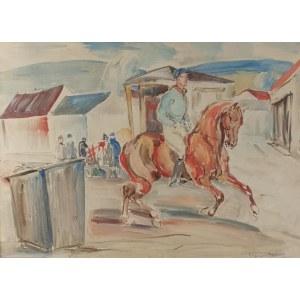 Eugeniusz GEPPERT (1890-1979), Jockey na koniu